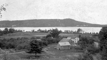 Farm Along Lake