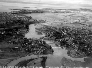 Aerial View After 1927 Flood