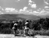 Bicyclists Look at Landscape