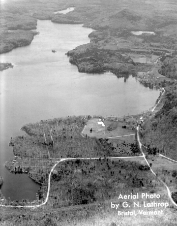 Aerial Photo of Lake Dunmore - 1