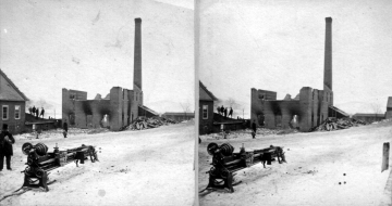 Mill After a Fire