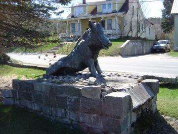 Boar Statue