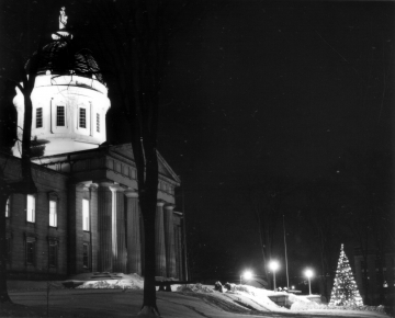 State House at Christmas