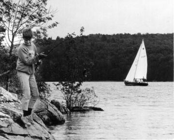 Fishing and Boating on Lake Champlain
