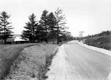 House Along Rural Road