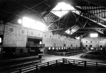 Breeding Barn with Cows