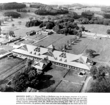 Aerial View of Breeding Barn
