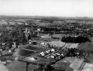 Aerial View of Campus (Looking North)