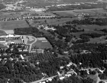 Aerial View of Redstone Campus