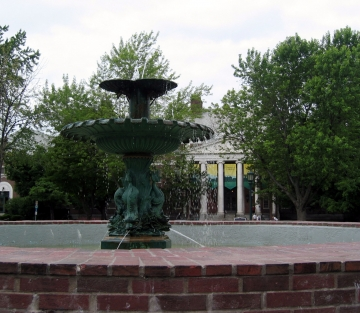 University of Vermont Fountain