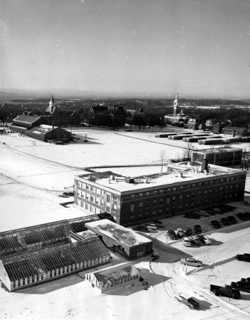 Aerial View of UVM Campus