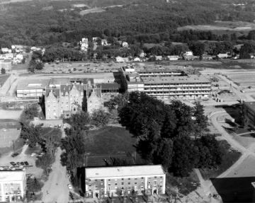 Aerial View of Converse Hall