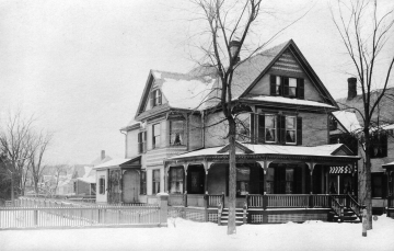 Barnes Homestead at 27 North Willard Street