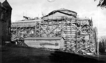 Construction of Ira Allen (Southern View)