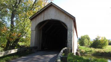 Cedar Swamp Covered Bridge