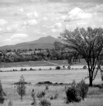 Camel's Hump with Fields in the Foreground
