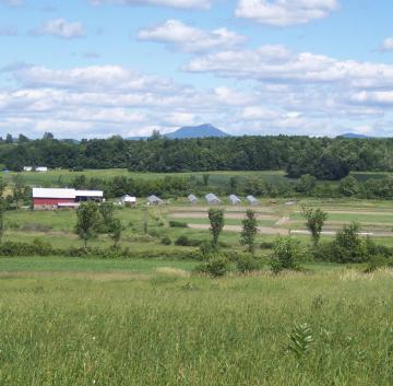 Camel's Hump with Fields in Foreground, Reshoot