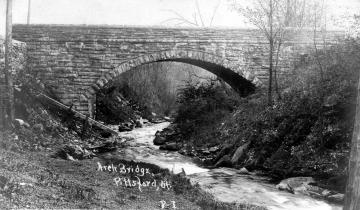 Arch Bridge in Pittsford