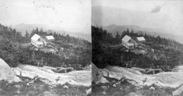 Buildings on Cleared Area of Camel's Hump
