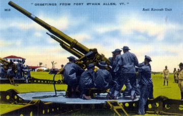 Anti Aircraft Unit at Fort Ethan Allen
