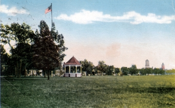 Band Stand Gazebo and Ball Grounds at Fort Ethan Allen