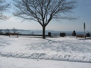 View of Lake Champlain from Battery Park