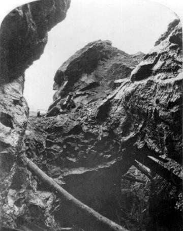 Elizabeth Mine, Open Pit