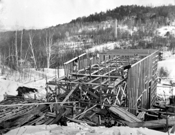 Construction at Elizabeth Mines