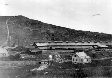 Ely Mine Smelting Shed and Flute