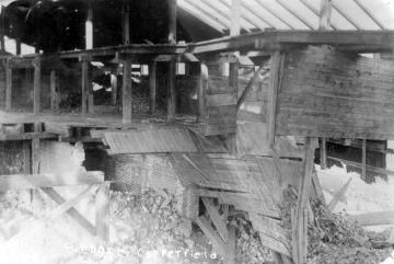 Abandoned Furnace Building, Inside