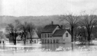 1927 Flood in the South End, White River Junction