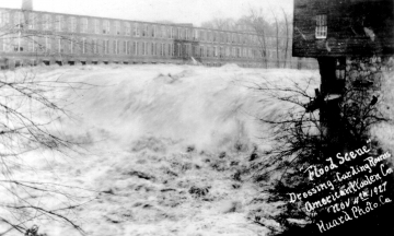 The Woolen Mill and 1927 Flood