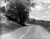 Rural road before improvements