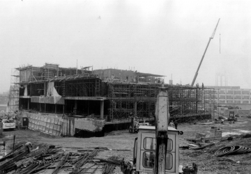 Construction of Aiken Building