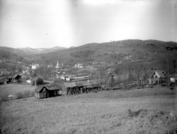 View of Town from Fields