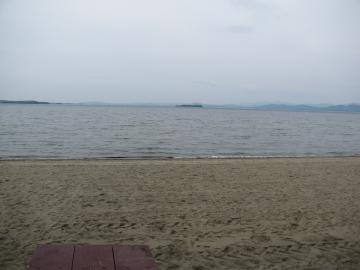Lake Champlain From North Beach