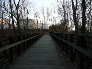 Completed Bike Path Bridge