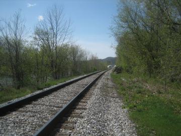 Jonesville train tracks