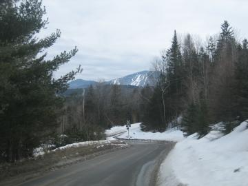 Burke Mountain from West Burke area, rt. 5