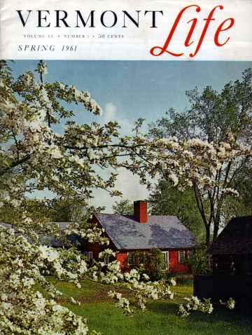 Blossoming Trees at Pomfret Farmstead