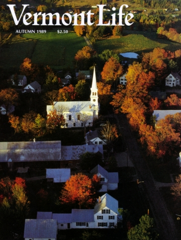 Aerial View of Peacham