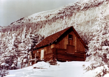 Butler Lodge on the west slope of Mount Mansfield