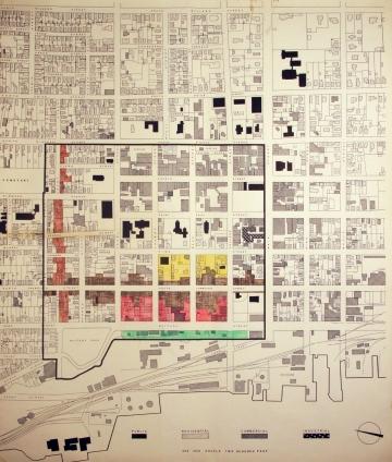 Burlington Construction and Demolition Map