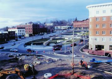 Winooski Urban Renewal Construction