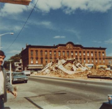 Winooski Urban Renewal Demolition 1973