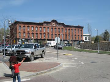 Winooski after demolition