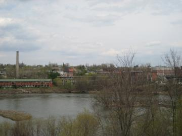Looking over Winooski River