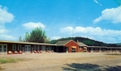 A single-story motel