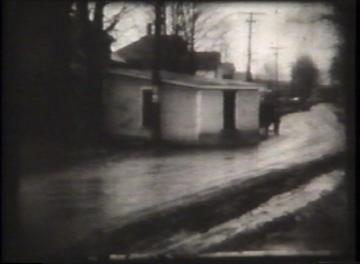 1927 Flood Movie Screenshot: Waterbury 1