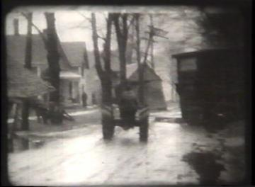 1927 Flood Movie Screenshot: Waterbury 6